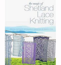 Search Press THE MAGIC OF SHETLAND LACE KNITTING by ELIZABETH LOVICK