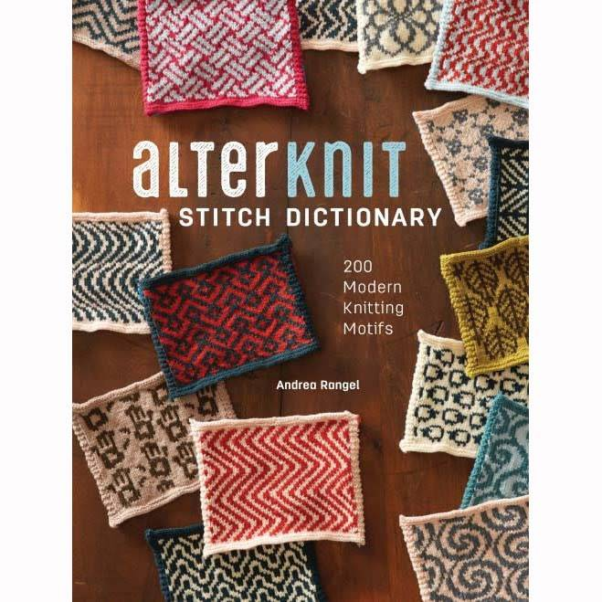 SEARCH PRESS Alterknit Stitch Dictionary by Andrea Rangel