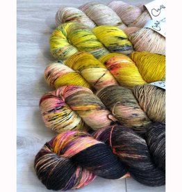 WALK collection FIVE SKEIN FADE - GOLDENROD