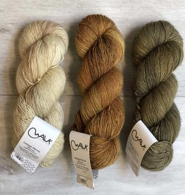 WALK collection THREE SKEIN FADE - BRASSY
