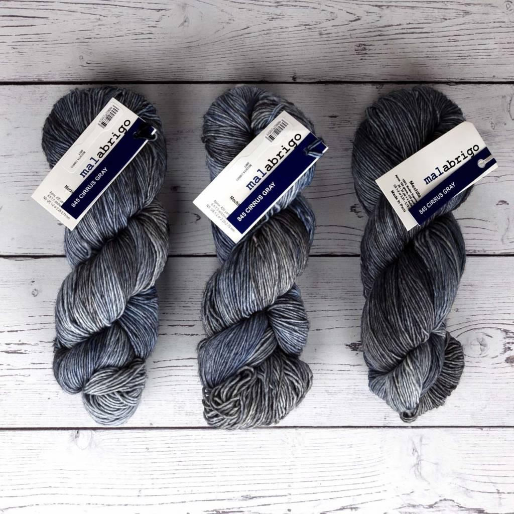 Malabrigo MECHITA CIRRUS GREY