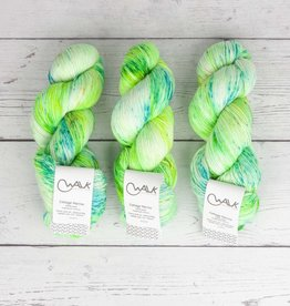 WALK collection COTTAGE MERINO - LIME DROPS