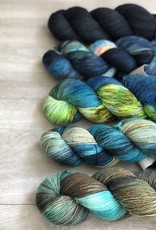 WALK collection FIVE SKEIN FADE - MARINA