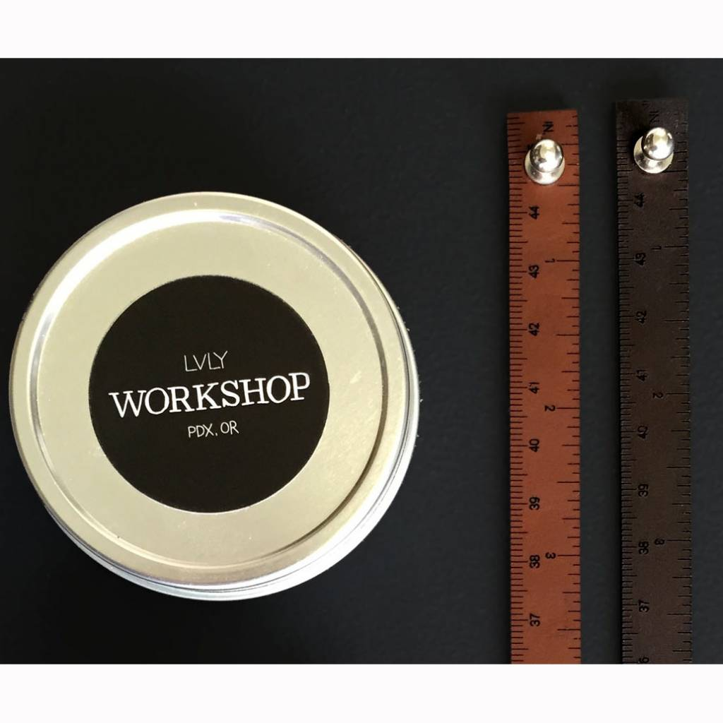 I Love Handles WRIST RULER - MEDIUM BROWN