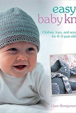 SEARCH PRESS EASY BABY KNITS by CLAIRE MONGOMERIE