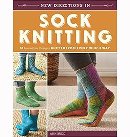 Search Press NEW DIRECTIONS IN SOCK KNITTING by ANN BUDD