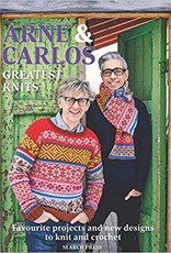 SEARCH PRESS ARNE & CARLOS: GREATEST KNITS by ARNE & CARLOS
