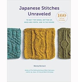 Search Press JAPANESE STITCHES UNRAVELED by WENDY BERNARD