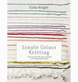 Search Press SIMPLE COLOUR KNITTING by ERIKA KNIGHT