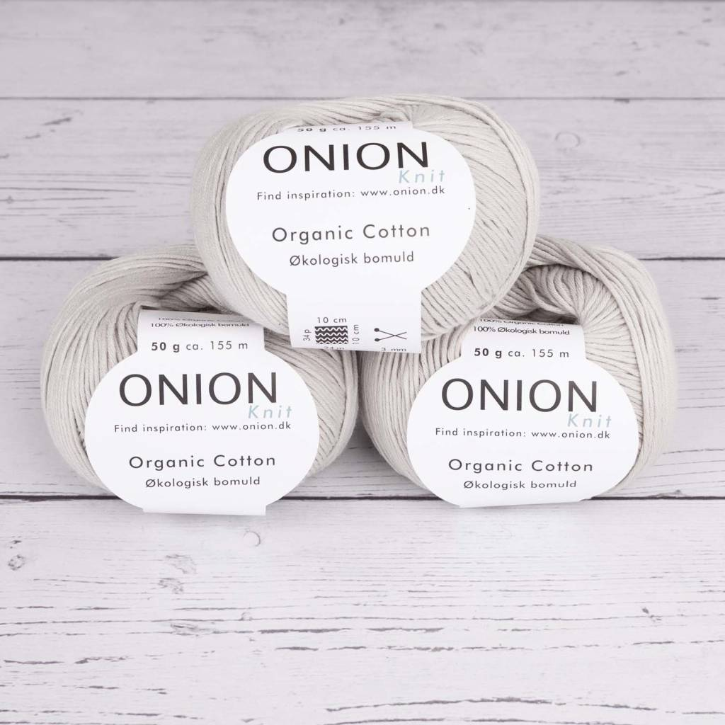 Onion ORGANIC COTTON V117