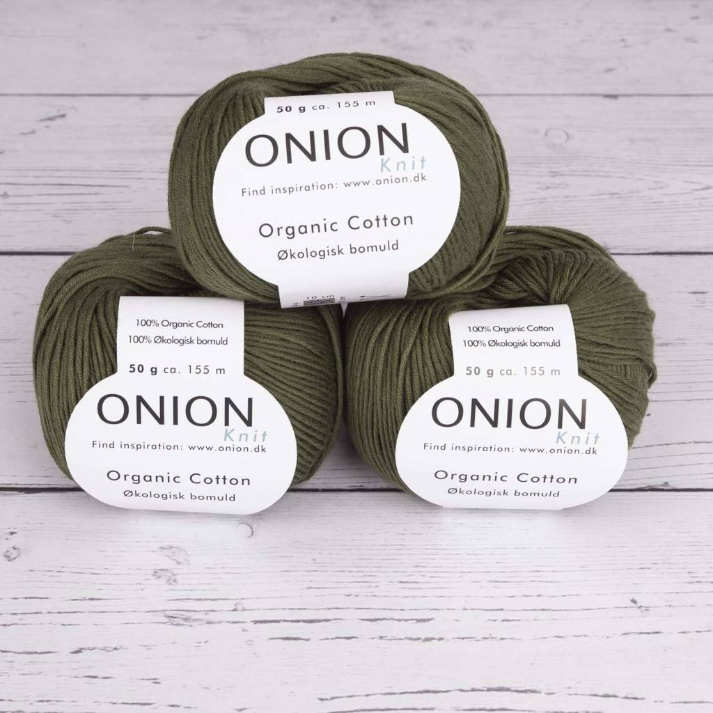 Onion ORGANIC COTTON V129