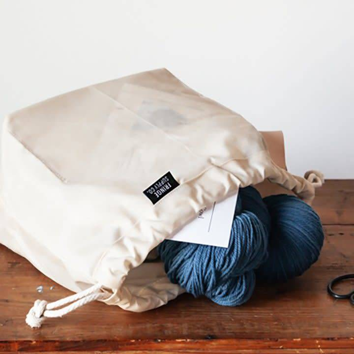 Fringe Supply Co. FIELD BAG - WAXED NATURAL