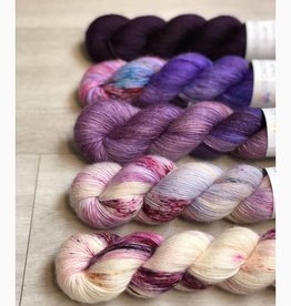 Uschitita FIVE SKEIN FADE - PURPLICIOUS