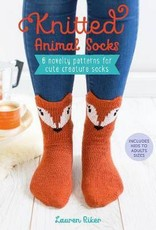 KNITTED ANIMAL SOCKS by LAUREN RIKER