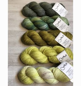 WALK collection FIVE SKEIN FADE - FOLIAGE