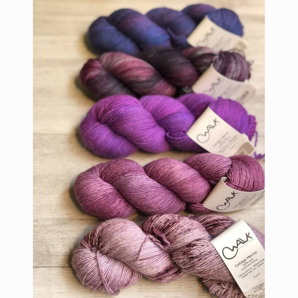 WALK collection FIVE SKEIN FADE - MAJESTIC