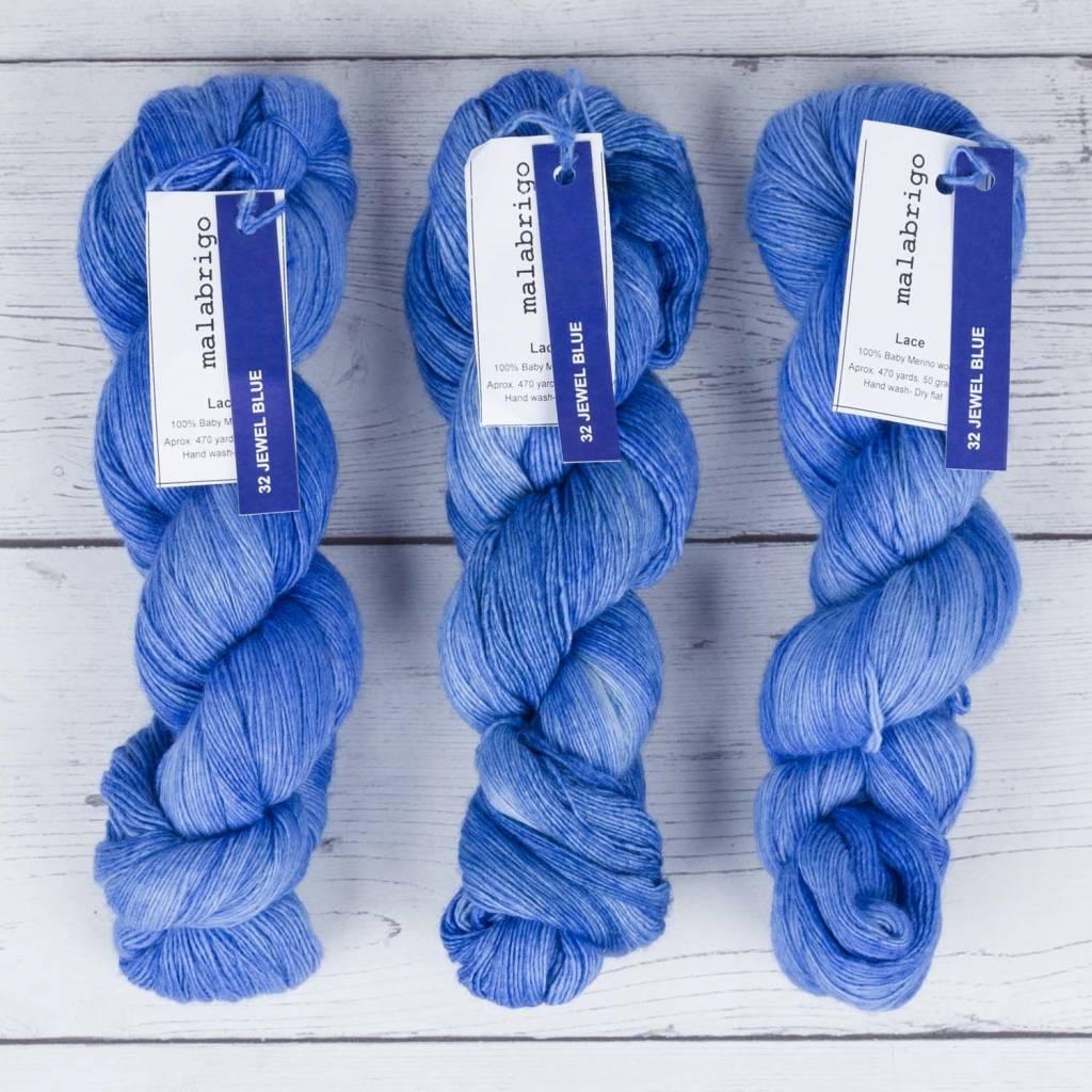 Malabrigo LACE JEWEL BLUE