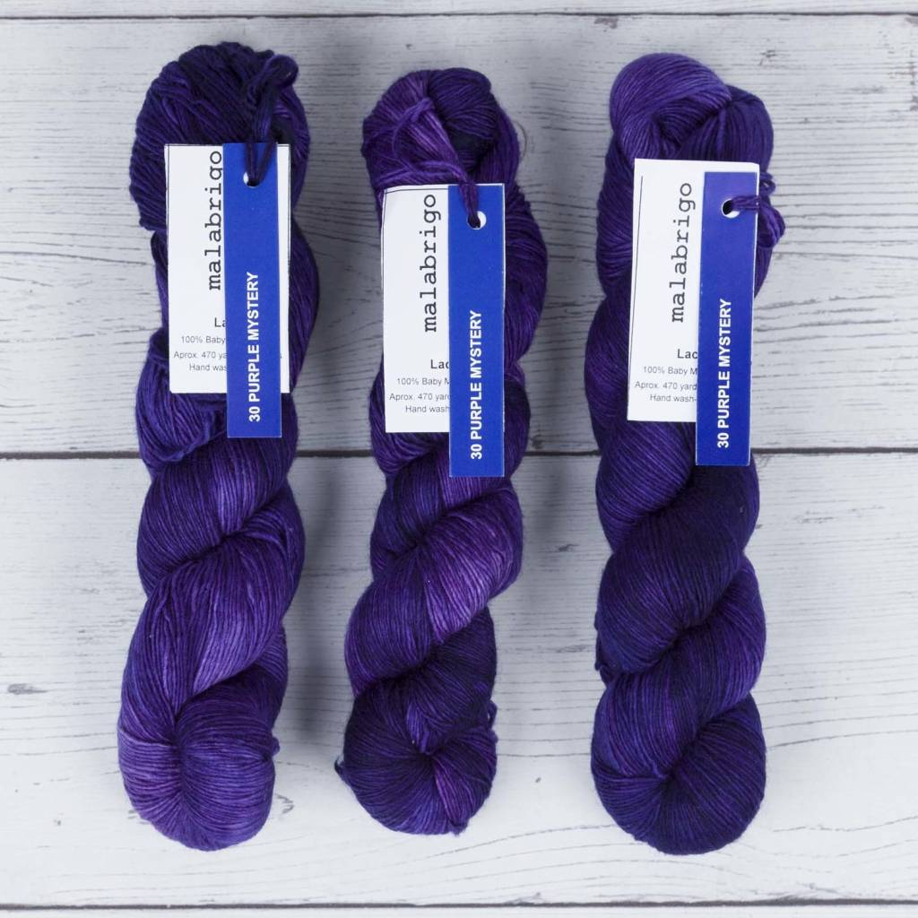 Malabrigo LACE PURPLE MYSTERY