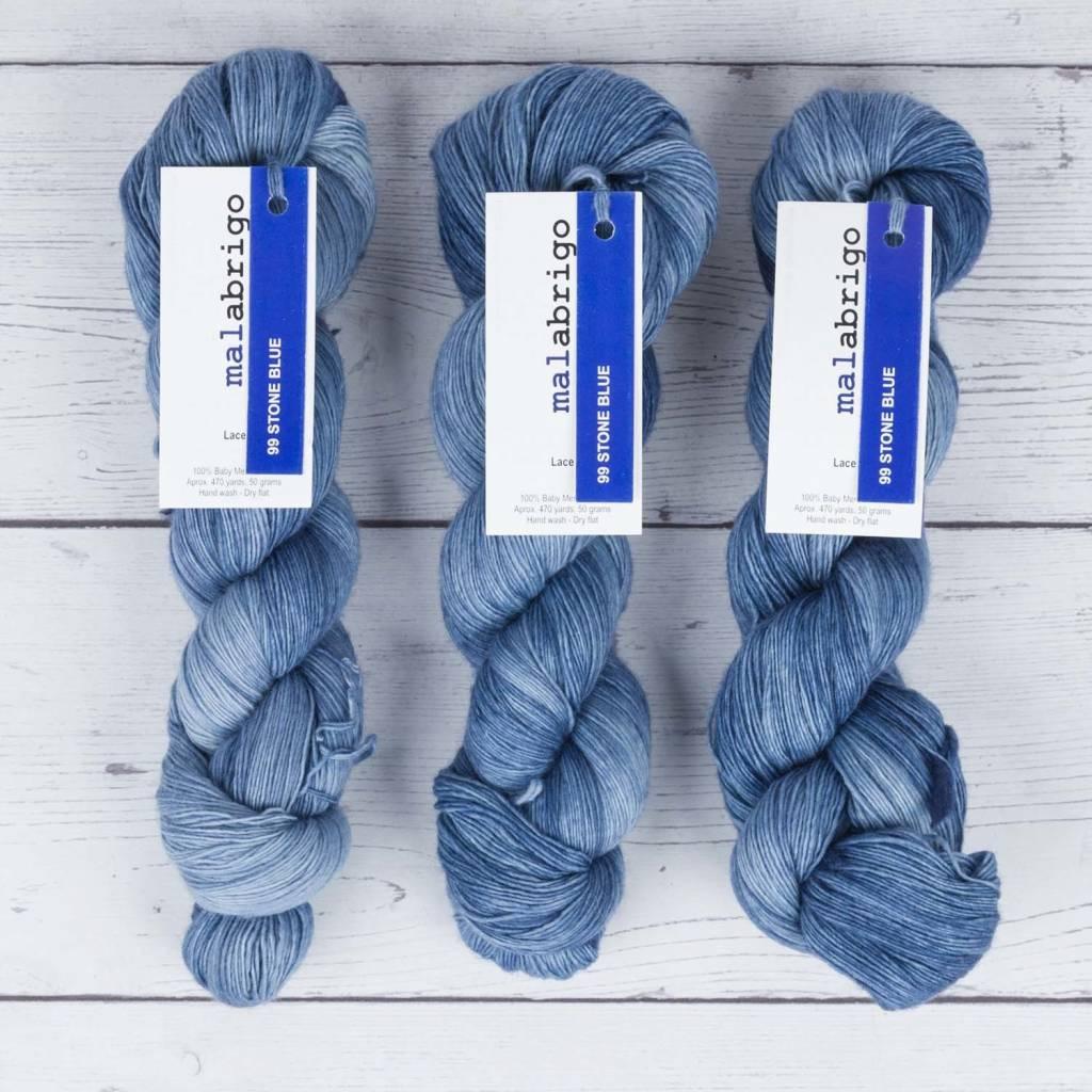 Malabrigo LACE STONE BLUE