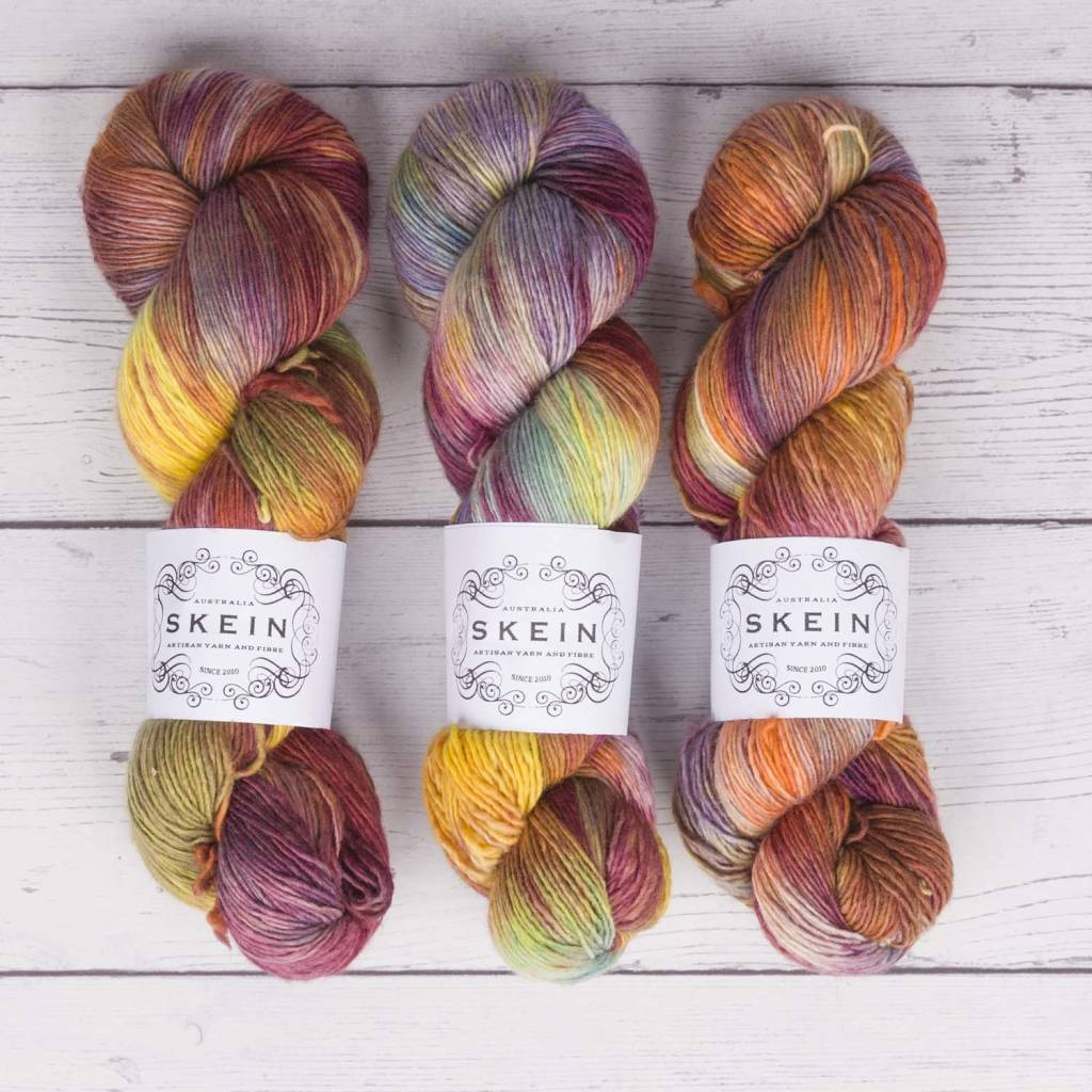 Skein UPTOWN SOCK - THE OUTBACK