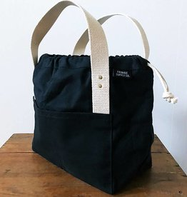 Fringe Supply Co. TOWN BAG - BLACK