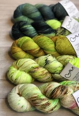 WALK collection FIVE SKEIN FADE - GREEN GLOW
