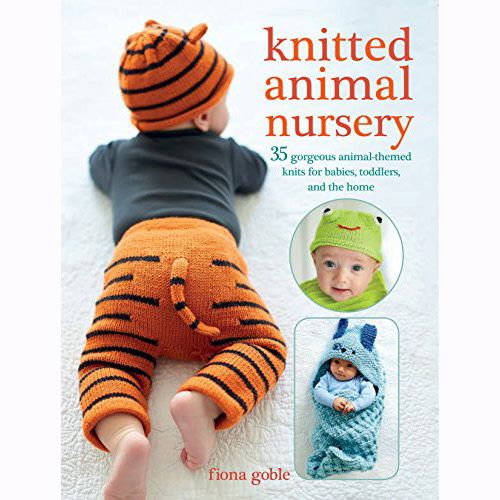 Search Press KNITTED ANIMAL NURSERY by FIONA GOBLE