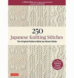 250 JAPANESE KNITTING STITCHES by HITOMI SHIDA
