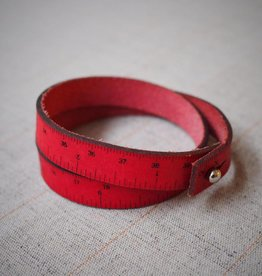 I Love Handles WRIST RULER - RED
