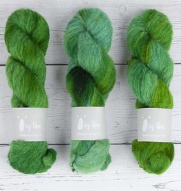 QING FIBRE MELTED BABY SURI - EMERALD