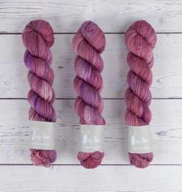 QING FIBRE GLITTER SOCK - ANTIQUE ROSE