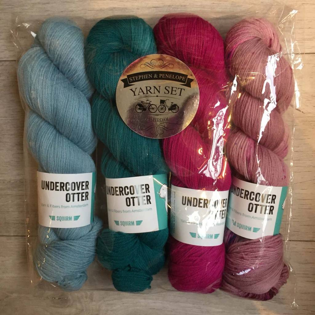 Undercover Otter BESPOKE COLOUR KIT - SQUIRM
