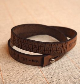 I Love Handles BRIOCHE WRIST RULER - MEDIUM BROWN