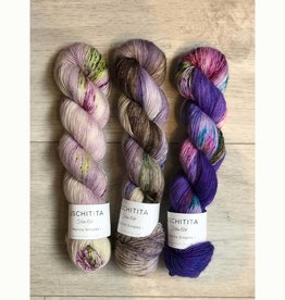 Uschitita THREE SKEIN FADE - LAVENDER FIELDS