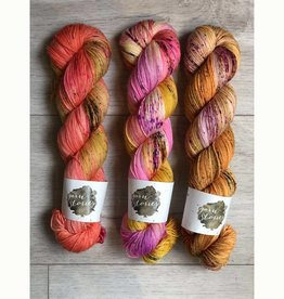 THREE SKEIN FADE - CORAL CRASH