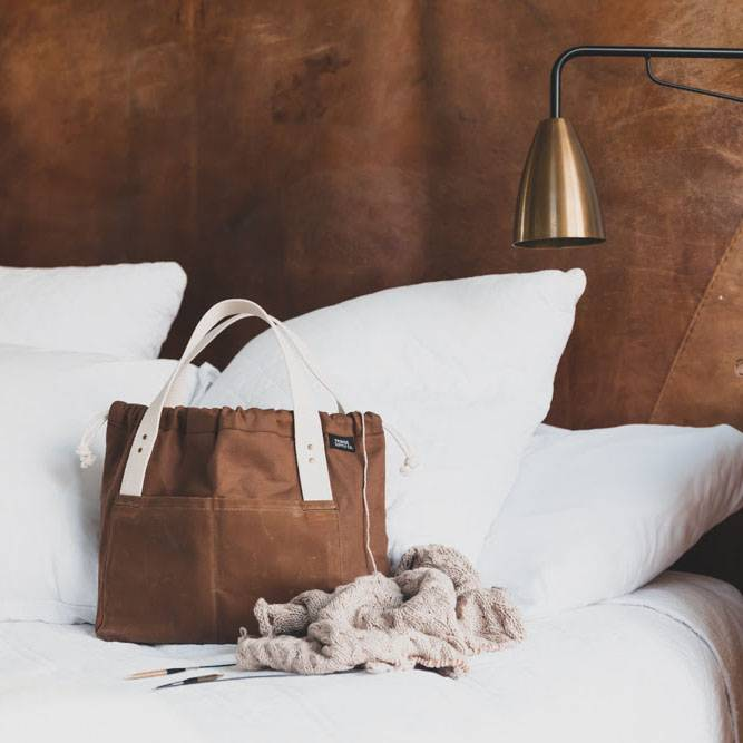 Fringe Supply Co. TOWN BAG - COCOA