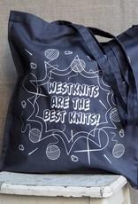 Westknits GREY WESTKNITS BESTKNITS TOTE