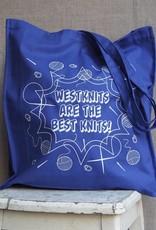 Westknits BLUE WESTKNITS BESTKNITS TOTE