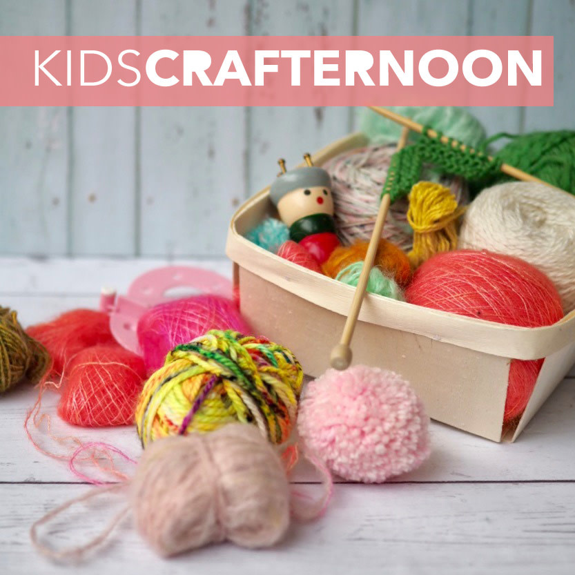 27 MARCH - KIDS' CRAFTERNOON