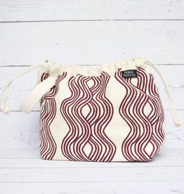 Fringe Supply Co. FIELD BAG - STEPHEN & PENELOPE CUSTOM (PLUM)