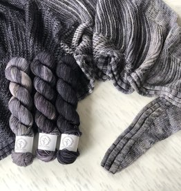 La Bien Aimee WESTKNITS KIT - CAFÉ KNITTING GREY