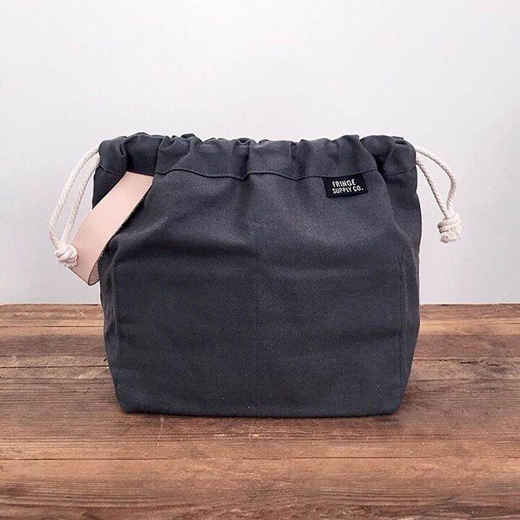 Fringe Supply Co. FIELD BAG - CHARCOAL