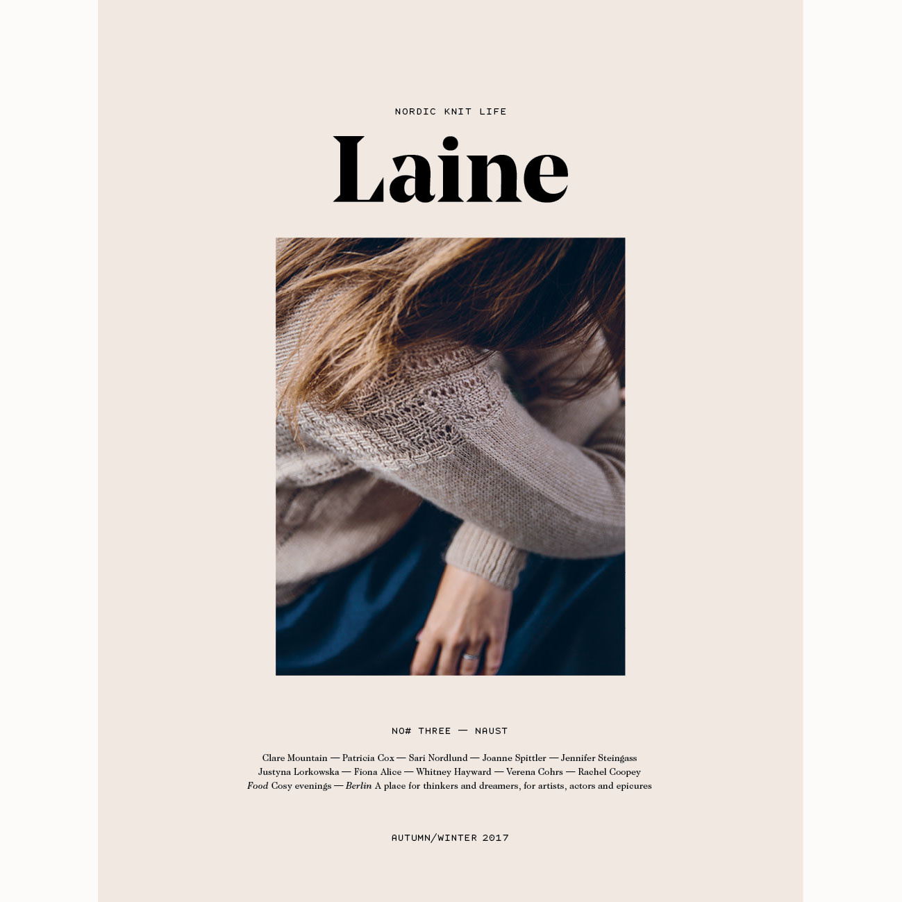 Laine Nordic Knit Life Issue 3 Stephen Penelope