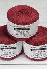 Orkney Angora ST MAGNUS CRANBERRY - BESPOKE COLOURWAY