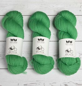 West Wool BICYCLE GRASS GREEN