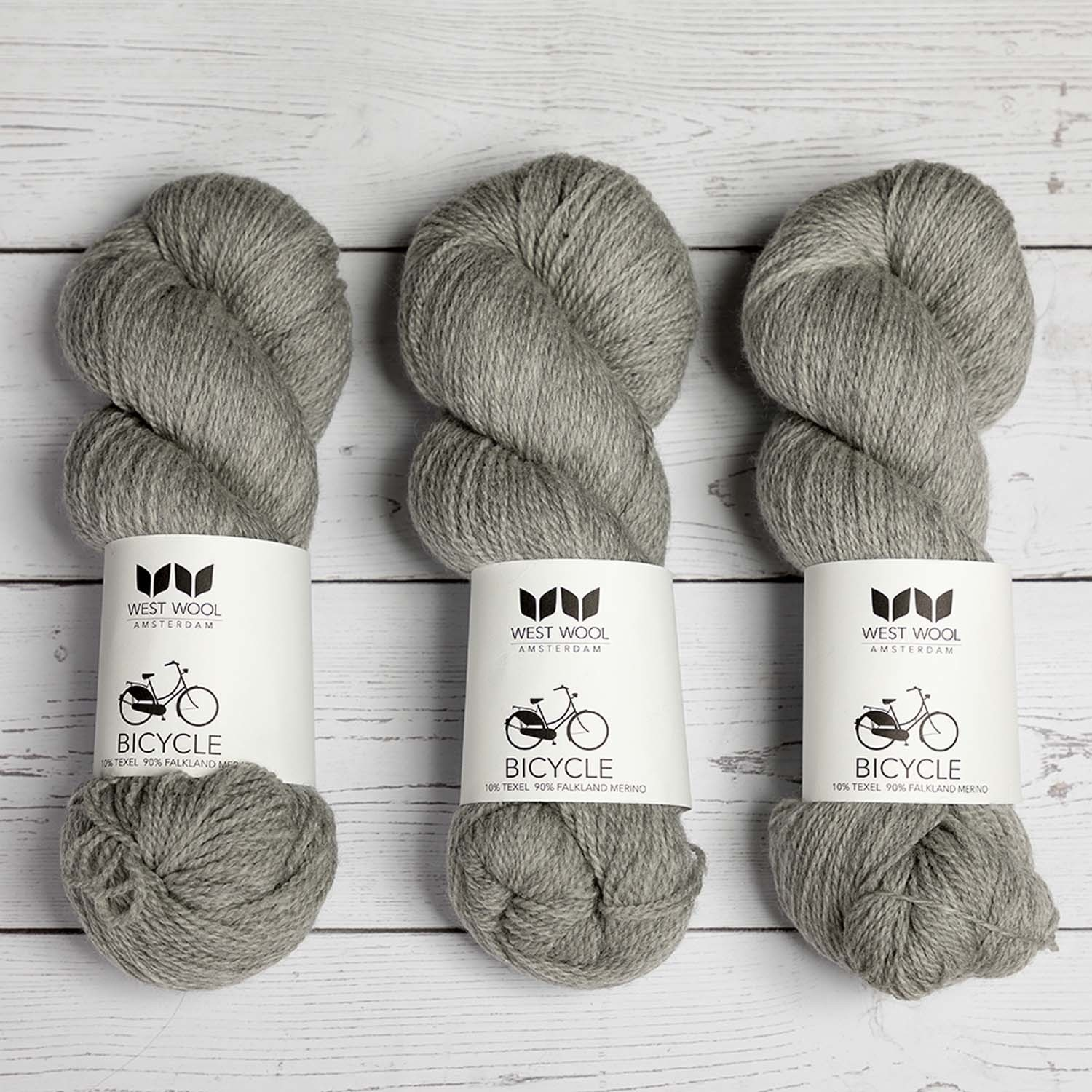 West Wool BICYCLE PEBBLE