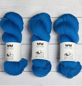 West Wool BICYCLE TRUE BLUE