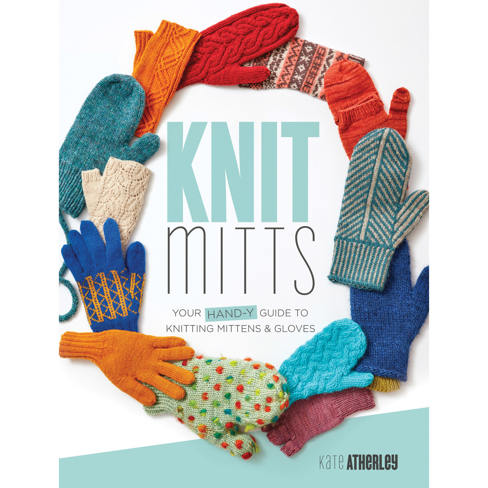 KNIT MITTS by KATE ATHERLEY
