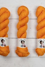 LOLABEAN YARN CO NAVY BEAN - TANGERINE