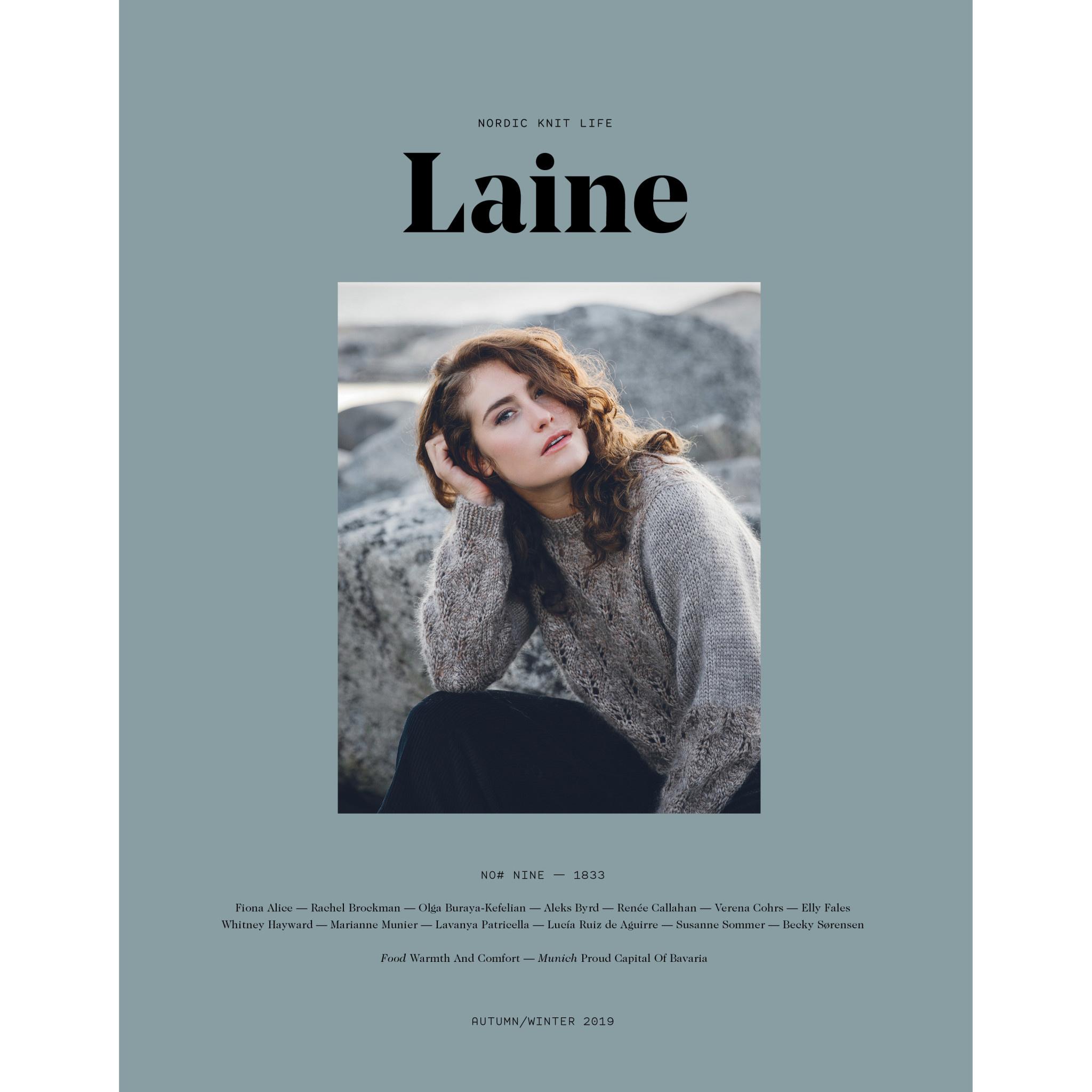 Laine PRESALE: LAINE NORDIC KNIT LIFE ISSUE 9